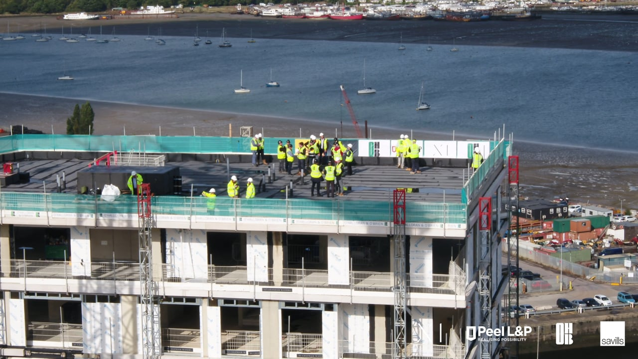 X1 Chatham Waters – Topping Out