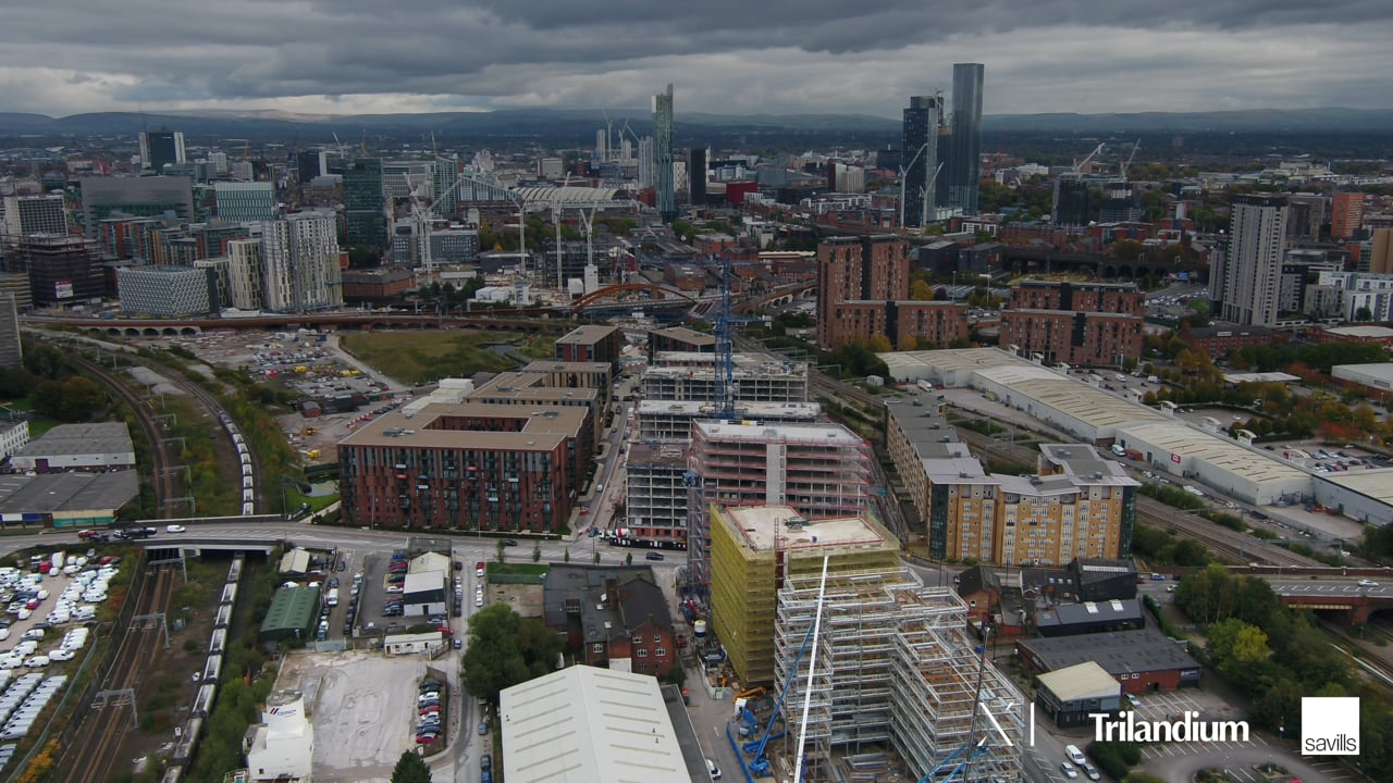 X1 The Landmark – Topping Out